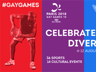 Paris 2018 Gay Games 10: Participate in the Largest Cultural, Festive and Sporting Event in the World